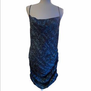 Free People Day to Night Printed Slip Dress
